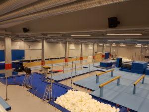 Gymnastikens hus Umeå TOA HS-120